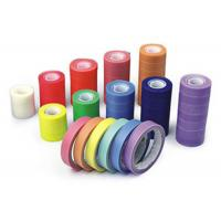 China Rainbow Color Clear Cellophane Tape Acrylic Adhesive Performed As Sealing / Decoration on sale