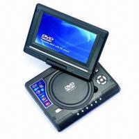 Best 7.8-inch Portable DVD Player with TV, Game, MPEG4, USB, Card Reader, and 180° Rotating Screen wholesale