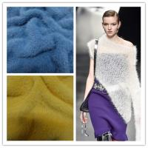 China Fancy richness hair soft fluffy nylon mink hairy like for  hand crochet flact machine knitting yarn on sale