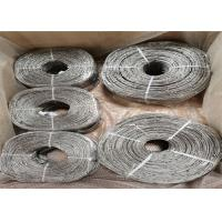 China Scenic Safe Protect Wire Rope Mesh , Stainless Steel Rope Net Modified Hole Type on sale