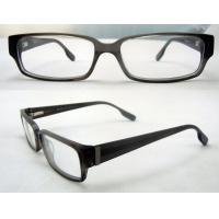Best Cool Rectangular Mens Acetate Eyewear Frames, Black Optical Eyeglasses Frame wholesale