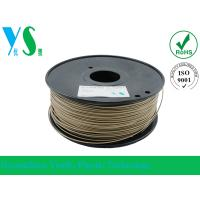 Best Markerbot 3mm Wood 3D Printer Filament Dark Brown With 200mm Spool wholesale