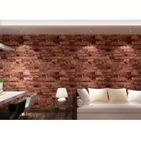 Best Removable 3D Brick Effect Wallpaper Living Room Wall Covering 0.53*10M wholesale