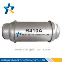 China R410a Refrigerant Gas alternative refrigerants for R22 99.8% purity, colorless and clear on sale