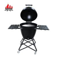 China Kimstone Kamado Style 22 portable charcoal stainless steel bbq grill on sale