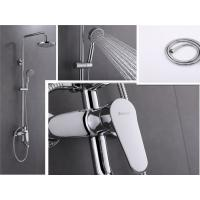 Best Wall Mounted Bathroom Faucet Sets , Soft Tube 1.5m Bathroom Shower Faucet Set wholesale