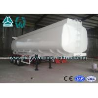 Q345 Carbon Steel Stainless Steel Tanker Trailers With Water Tank