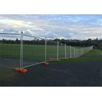 Cheap Temporary Fencing OD 32 x 1.40mm  construction fence 2.1mtx2.4mts Mesh 3.00mm*150mm*50mm anti climb mesh for sale