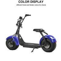 Best Adult electric scooter with VIN plate and COC,,fat tire citycoco electric scooter wholesale