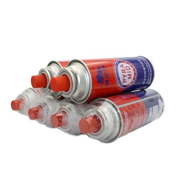 Cheap China butane gas cartridge refill 400ml-227g for sale