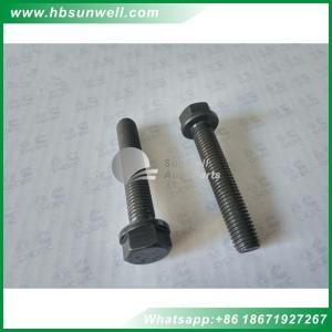 Best Cummins 4BT 6BT diesel engine Cylinder head bolt Hexagon Flange Head Cap Screw 3920779 3900046 3903938  Short bolt wholesale