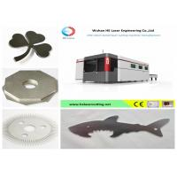 High - Speed Big Format Fiber Laser Cutting Machine For Hard Metals , Stable Performance