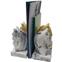 Best Durable Antique Concrete Horse Bookends / Hotel Ware Homemade Bookends wholesale
