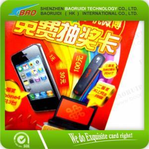 Best hologram scratch card label wholesale
