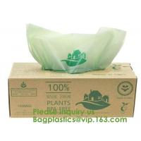 China 100% Certified Biodegradable Compost Bags, Food Waste Bags,Food grade compostable coffee bags,Biodegradable Stand Up Cof on sale