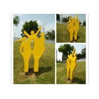 Best Happy Family Outdoor Stainless Steel Garden Sculptures Mother And Child Sculpture wholesale