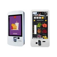 "32"" 42 "" Food Ordering Self Service Payment Kiosk With Capacitive Touch Barcode"