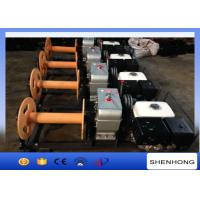 China 5 Ton Gas Powered Winch Honda Gasoline Engine 13HP For Cable Pulling on sale