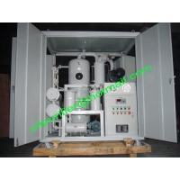 Best Double Stage Vacuum Transformer Oil Filtration Plant, Insulation Oil Purifier Machine, Oil Processor Unit wholesale