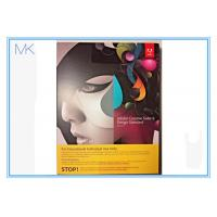 China CS6 Adobe Graphic Design Software Standard MAC Full Student Edition Creative Suite English on sale