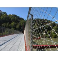 China 1.5mm thickness SS 316 wire rope fence stainless steel rope mesh for zoo on sale