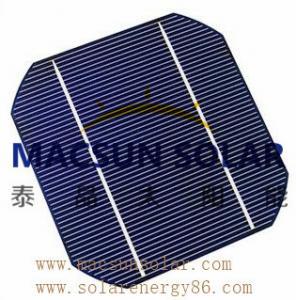 Mono 6' (156*156) black or blueMonoCrystalline Silicon Solar Cell