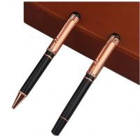 Best Custom Promotional Metal Engraved Ball Point Free Ink Roller Pens With Logo wholesale