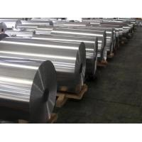 China Lubricated Food Grade Industrial Aluminum Foil Alloy 8011 For Container HO - H24 on sale