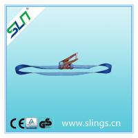 China Ratchet strap blue color from HEBEI SLN SLING on sale