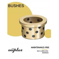 Best C90800 Tin Bronze Graphite Plugged Bushings CuSn12 for Injection Mold Machinery wholesale