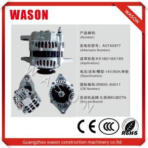 Best Kubota Engine A5TA5977 Excavator Alternator 3R600-64011 Kubota Tractor Alternator wholesale