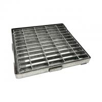 China Galvanized Steel Grating  , Steel Grating Cover Drain Cover 302402 on sale