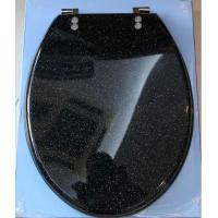 China Gilliter polyresin toilet seat  cover,decorate toilet seat,transparent toilet seat on sale