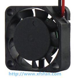 25*25*07mm UPS Cooler 5V/12V DC Black Plastic Brushless Cooling Fan DC2507