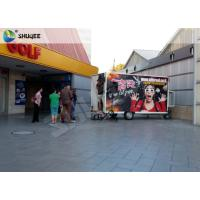 Best Mobile 7D Movie Theater For Trailer Convenient In Shopping Mall Gate wholesale