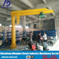 Best Exported to North of America Pillar Mounted Cantilever Jib Crane with Chain Hoist wholesale