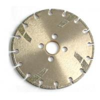 Best High Sharpness Diamond Cutting Blade , Concrete Cutting Blades For Angle Grinder wholesale