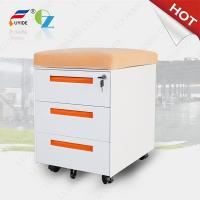 Best mobile filing cabinet with cushion FYD-H004,3 drawer,5 wheels,3 section slideway,RAL colo wholesale