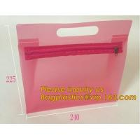 Best Fashion ladies travel bags PVC makeup Bag Pouches Tote Clear Transparent Cosmetic Travel Bag For Sale bagplastics bageas wholesale
