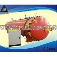 China Heating oil heating is manually opening rubber roller autoclave vulcanization electric steam autoclave on sale