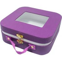 Buy cheap Small cute paper gift case , safety creative gift boxes rounded corner metal lock product