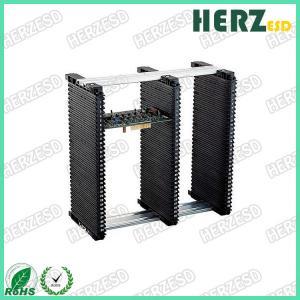 China Conductive Circuit Board Rack , Adjustable Magazine Rack Surface Resistance 104-109Ω on sale