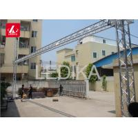 Best Rotating Lighting LED Display Truss Goal Post Banner Truss Tower System 24 Hours Service wholesale