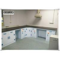 Best Corrosion Resistant PP Structure Chemical Laboratory Furniture With Phenolic Resin Countertop wholesale
