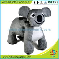 Best Electric Animal Battery Toy Coin Operated Plush Motorcycle Plush Riding Animals wholesale