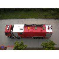 Rotatable Structure Cab Water Fire Truck With Electronic Direct Injection Diesel Engine