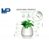 Buy cheap Indoor Use Mini Portable Bluetooth Speaker Led Flower Pot With Night Light product