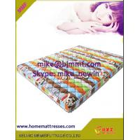China Palm fibre bed mattress coconut coir mat  on sale