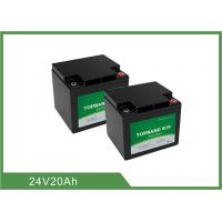 Best Deep Cycle Lithium LiFePO4 Rechargeable Battery 24V 20Ah for Golf Cart / Golf Trolley wholesale