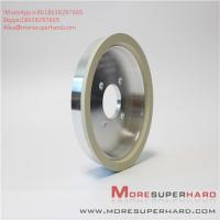 Best 6A2 150D 10W W10 ceramic bonded diamond cutter grinding cup type high efficiency grinding wheel Alisa@moresuperhard.com wholesale